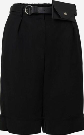VERO MODA Bandplooibroek in de kleur Zwart, Productweergave