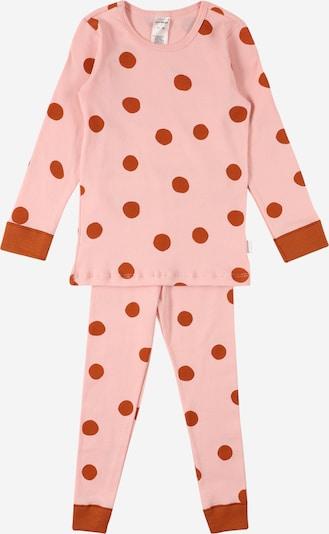 SCHIESSER Schlafanzug en pink / rostrot, Vue avec produit