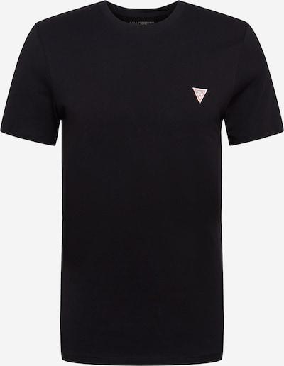 Marškinėliai iš GUESS , spalva - ugnies raudona / juoda / balta, Prekių apžvalga