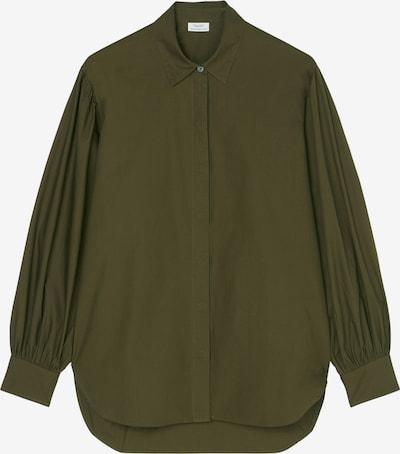 Marc O'Polo DENIM Bluse in oliv, Produktansicht