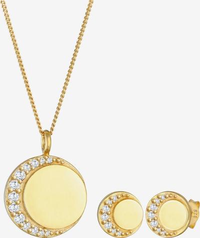 Nenalina Schmuckset Geo in gold, Produktansicht