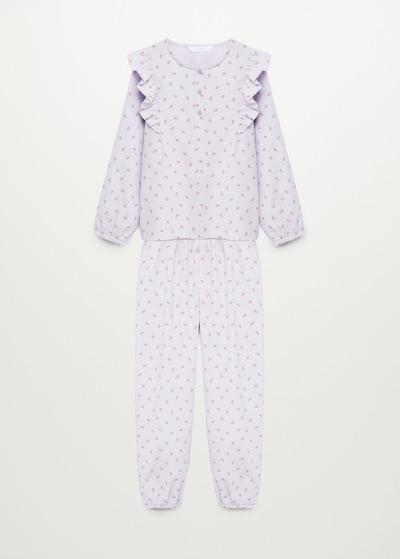 MANGO KIDS Pyjama 'Anni' in lila, Produktansicht