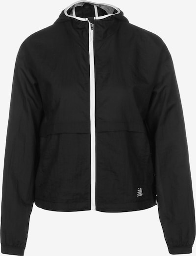 new balance Outdoor Jacket in Black / White, Item view