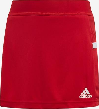 ADIDAS PERFORMANCE Sporthose in rot / weiß, Produktansicht