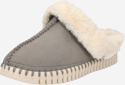 ILSE JACOBSEN Pantofle - šedá / barva bílé vlny, Produkt