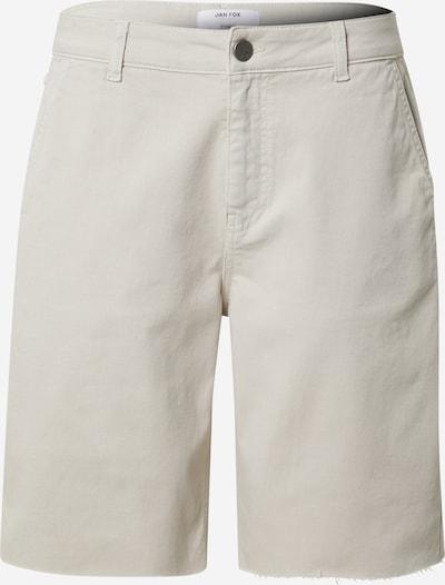 Jeans 'Jan' DAN FOX APPAREL pe alb murdar, Vizualizare produs