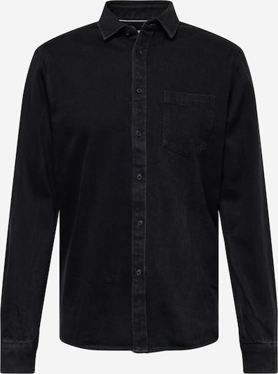 !Solid Skjorte i sort, Produktvisning