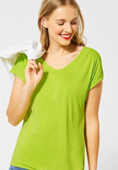 STREET ONE T-Shirt in grün: Frontalansicht