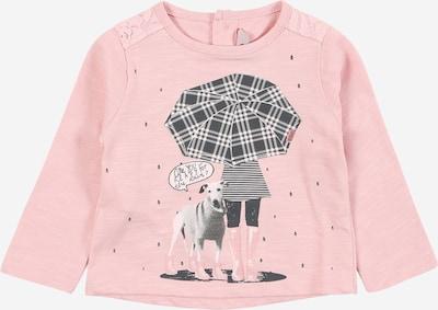 Boboli Shirt in grau / dunkelgrau / rosa / schwarz, Produktansicht