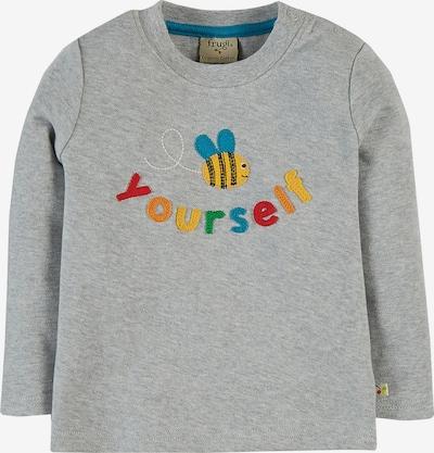 Frugi Shirt 'Chatter' in blau / gelb / grau / rot, Produktansicht