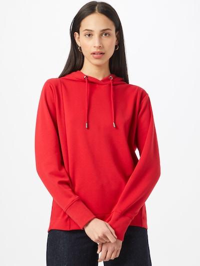 s.Oliver Sweat-shirt en rouge: Vue de face