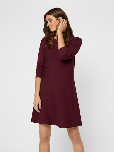VERO MODA Kleid 'Nancy' in blutrot, Modelansicht
