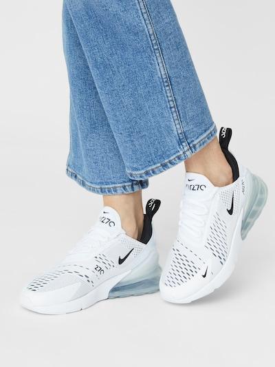 Nike Sportswear Sneaker 'Air Max 270' in schwarz / weiß: Frontalansicht