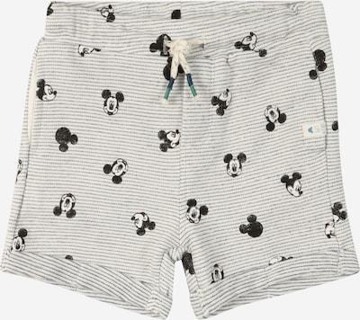 OVS Pantalon 'Michey' en noir / blanc, Vue avec produit