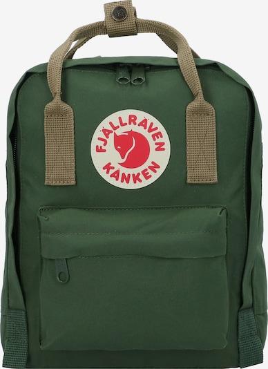 Fjällräven Rucksack in grün / rot, Produktansicht