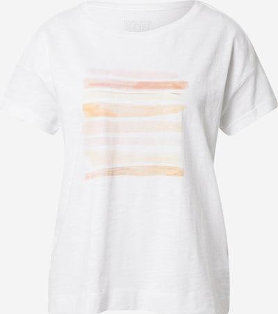 Maglietta ESPRIT di colore arancione chiaro / rosa pastello / bianco, Visualizzazione prodotti