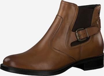 TAMARISChelsea čizme - smeđa boja