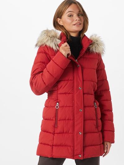 ONLY Mantel 'Luna' in beige / rot, Modelansicht