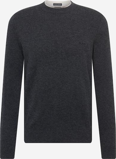 BOSS Pullover 'Bacio-N' i mørkegrå, Produktvisning