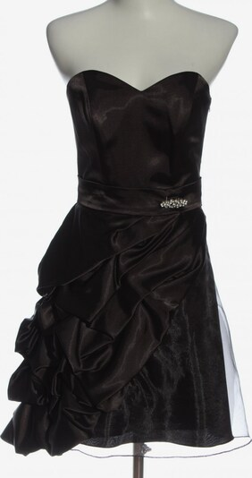 KLEEMEIER schulterfreies Kleid in XS in braun / schwarz, Produktansicht
