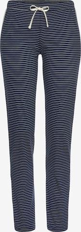 s.Oliver Pyjamahose in Blau