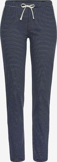 s.Oliver Pyjamahose in dunkelblau / weiß, Produktansicht