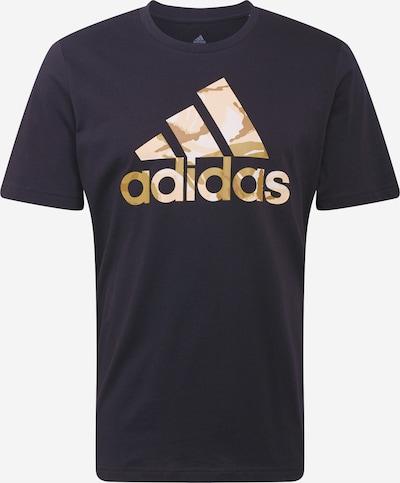 ADIDAS PERFORMANCE Koszulka funkcyjna w kolorze ecru / brązowy / pastelowy róż / czarny / białym, Podgląd produktu