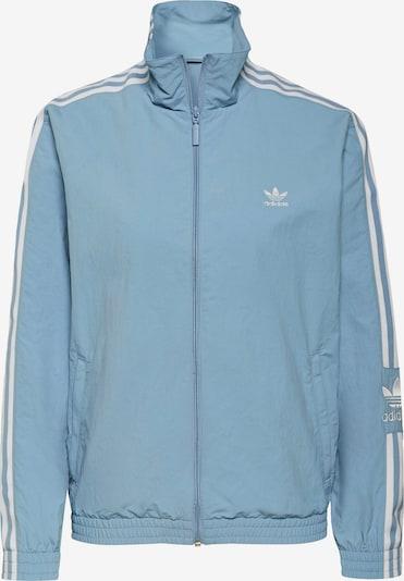 ADIDAS ORIGINALS Jacke in rauchblau / weiß, Produktansicht