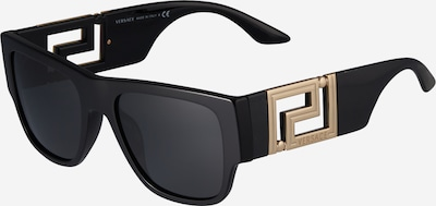 VERSACE Zonnebril in de kleur Goud / Zwart, Productweergave