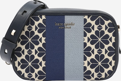 Kate Spade Sac pour appareil photo 'SPADE FLOWER' en beige / bleu marine / bleu-gris, Vue avec produit