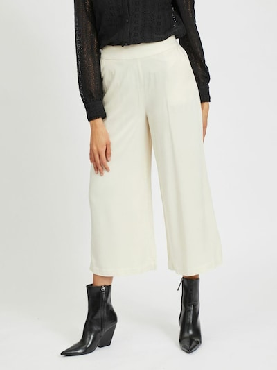 VILA Bukser 'VIFANZA' i hvid, Modelvisning