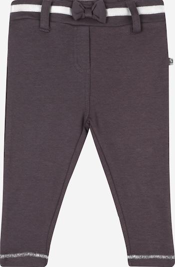 JACKY Leggings in de kleur Donkergrijs / Wit: Vooraanzicht
