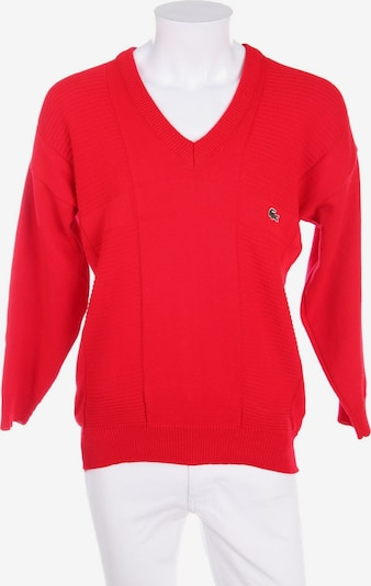 LACOSTE Baumwoll-Pullover in L in rot, Produktansicht