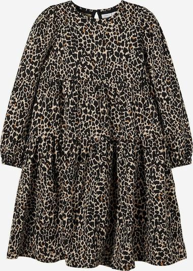 NAME IT Kleid in beige / braun / schwarz, Produktansicht