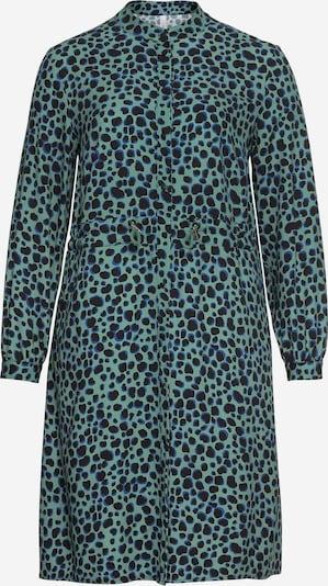 Rochie tip bluză SHEEGO pe verde, Vizualizare produs