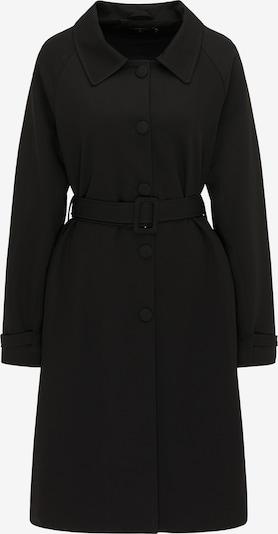 usha BLACK LABEL Tussenmantel in de kleur Zwart, Productweergave