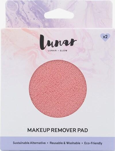 Lunar Glow Makeup Remover Pad in rosé, Produktansicht