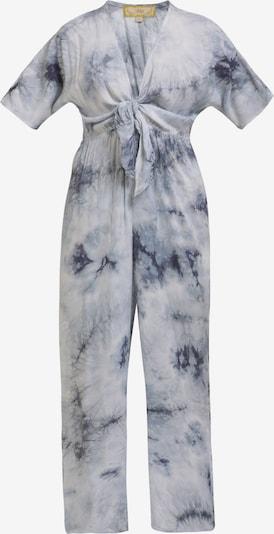 MYMO Combinaison en bleu chiné / blanc, Vue avec produit
