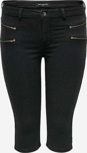 Pantaloni 'CarSarah' ONLY Carmakoma pe denim negru, Vizualizare produs