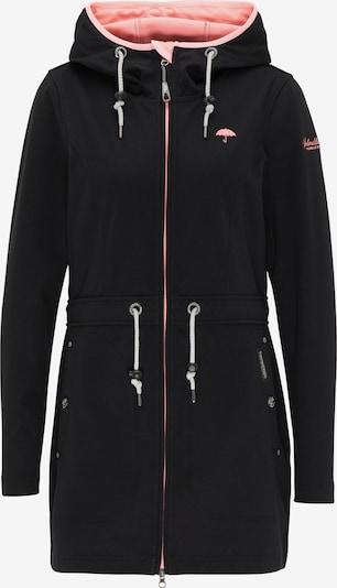 Schmuddelwedda Functionele jas in de kleur Rosa / Zwart, Productweergave