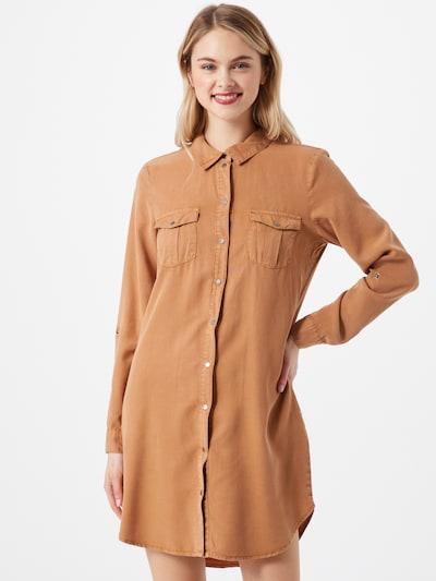 Abito camicia VERO MODA di colore caramello, Visualizzazione modelli