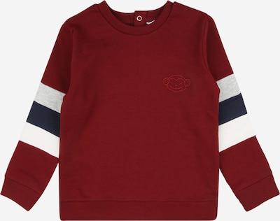 MANGO KIDS Sweatshirt in marine / graumeliert / burgunder / weiß, Produktansicht