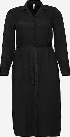 SHEEGO Shirt dress in Black, Item view