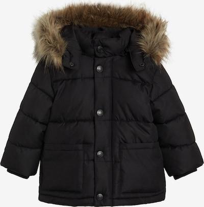 MANGO KIDS Winterjas 'Luca' in de kleur Zwart, Productweergave