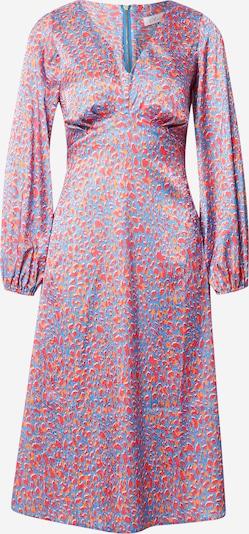 Closet London Kleid in blau / dunkelgelb / hellpink, Produktansicht