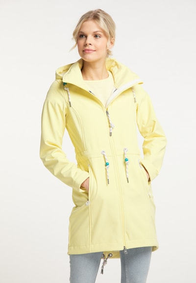 Schmuddelwedda Raincoat in Light yellow, View model
