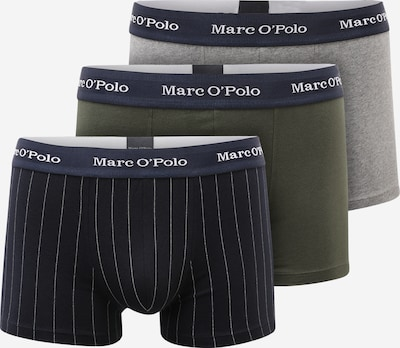 Boxeri Marc O'Polo pe albastru / albastru închis / gri amestecat / oliv / alb, Vizualizare produs