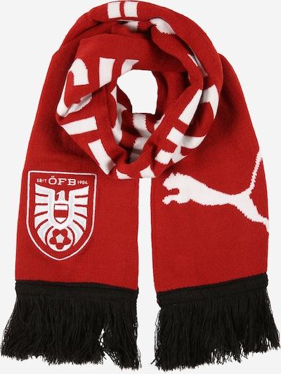 PUMA Chal deportivo 'Österreich' en rojo oscuro / negro / blanco, Vista del producto
