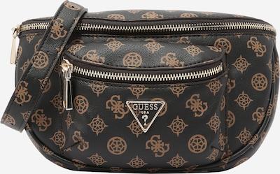 GUESS Pojasna torbica 'MANHATTAN' u kestenjasto smeđa / svijetlosmeđa, Pregled proizvoda