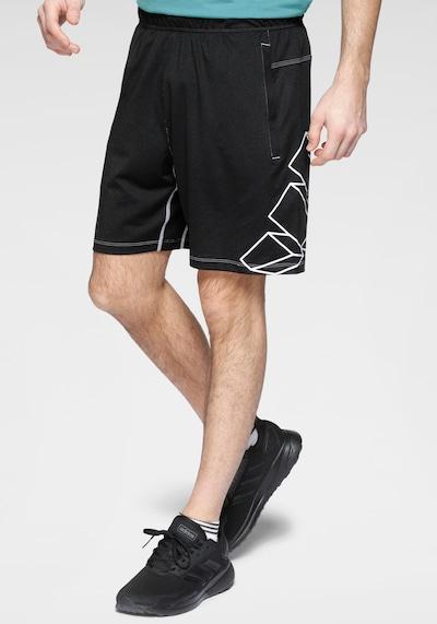 ADIDAS PERFORMANCE Športové nohavice 'Hype' - čierna / biela, Model/-ka